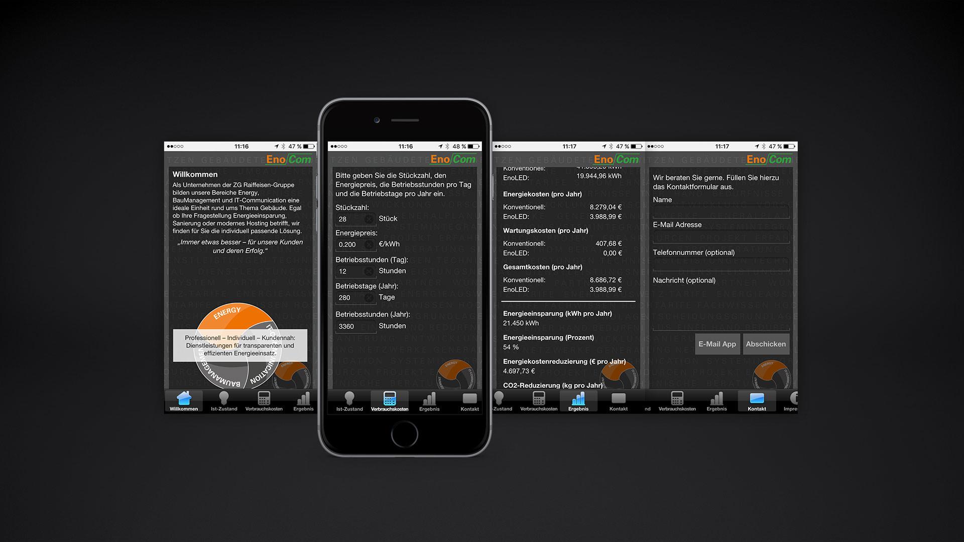 EnoCom App - Objective-C, iOS, App